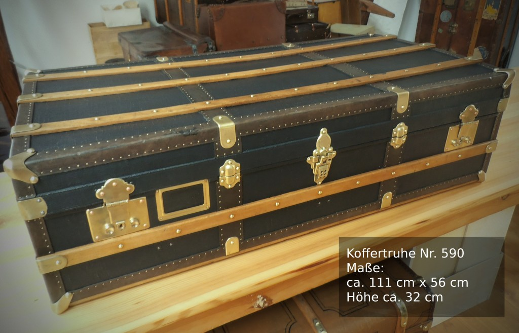 Alte Koffertruhe